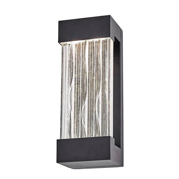 Artcraft Lighting Watercrest AC9160BK Outdoor Wall Light - 4.5-in x 3.75-in x 12-in - Black