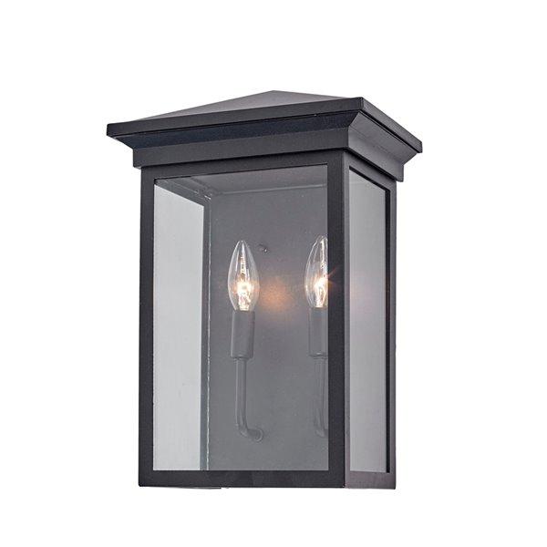 Artcraft Lighting Gable AC8462BK Outdoor Wall Light - 15-in - Black