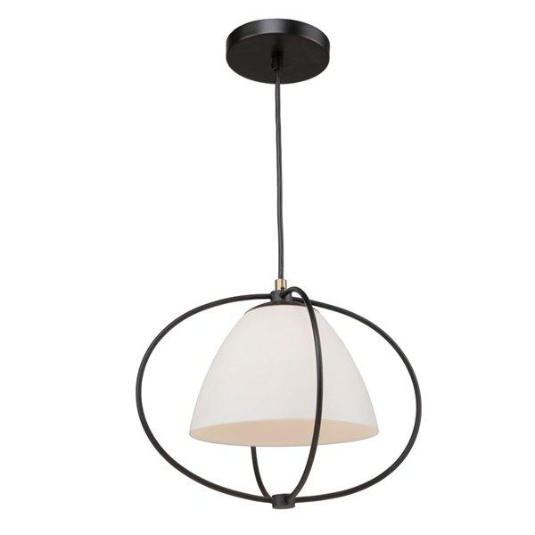 Artcraft Lighting Dewdrop SC13170 1-Light Pendant - 16-in x 13-in - Black