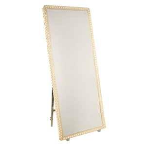 Artcraft Lighting Reflections AM309 LED Mirror - 27.5-in x 67-in - Crystal