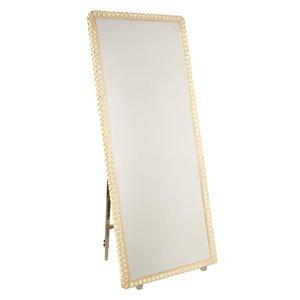 Miroir à éclairage DEL Reflections AM309 d'Artcraft Lighting, 27,5 po x 67 po, cristal
