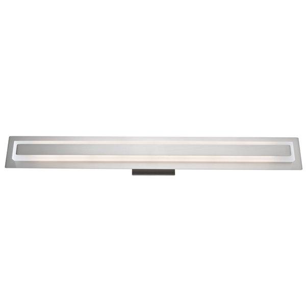 Artcraft Lighting Echo Park AC7122BN 1-Light Vanity Light - 31-in x 2.5-in x 3.5-in - Brushed Nickel