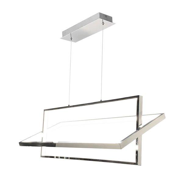 Artcraft Lighting Linear SC13141CH Kitchen Island Light - 1 -Light - Chrome