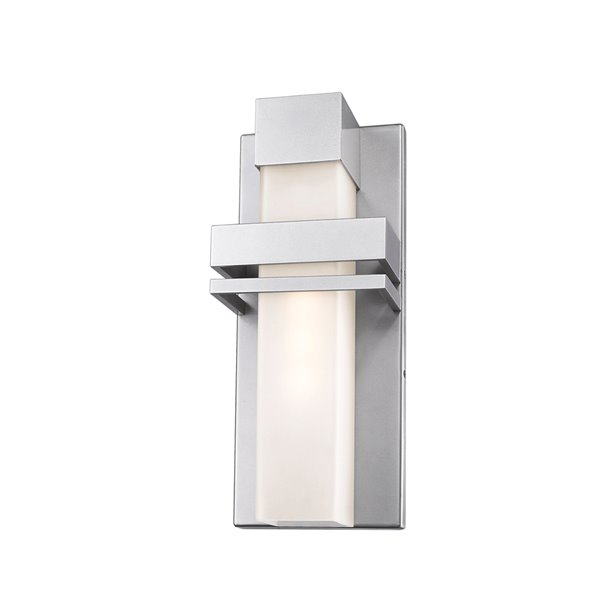 Artcraft Lighting Camden AC9150SL Outdoor Wall Light - 16-in - Silver