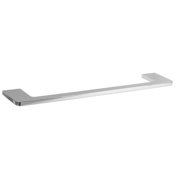 Nameeks Glam Hotel Wall Mounted Towel Bar In Chrome - 18-in