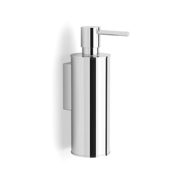 Nameeks Boutique Hotel Wall Mounted Soap Dispenser in Chrome - 14 oz - 6.38-in x 1.97-in