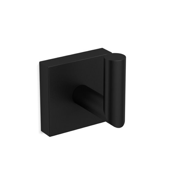 Nameeks Nice Hotel Wall Mounted Bathroom Hook In Black