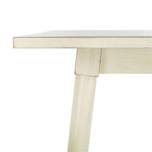 Safavieh Simone Square Dining Table - White - 36-in L x 36-in W - Sits 6