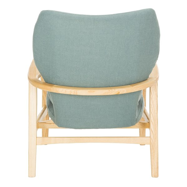 Safavieh Tarly Accent Chair - Blue/Natural