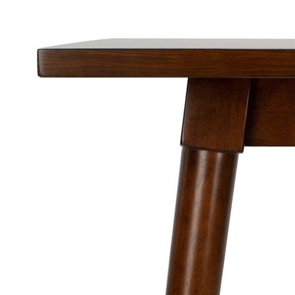 Safavieh Tia Rectangle Dining Table - Walnut - 36-in L x 55-in W - Sits 4