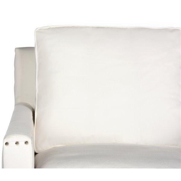 Safavieh Hollywood Glam Tufted Acrylic White Club Chair