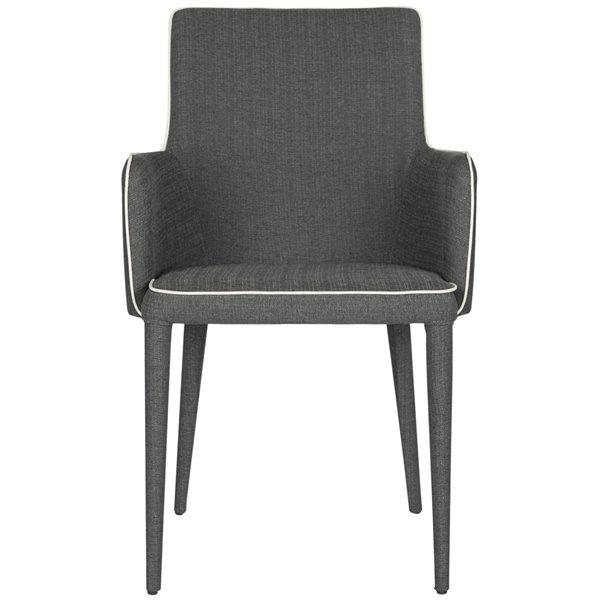 Safavieh Summerset Arm Chair - Grey/White