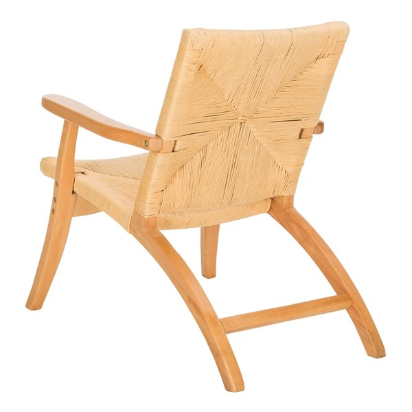 Safavieh Bronn Wood Accent Chair - Natural