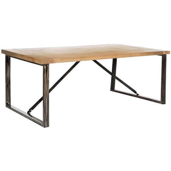 Safavieh Chase Rectangular Wood Coffee Table - Natural