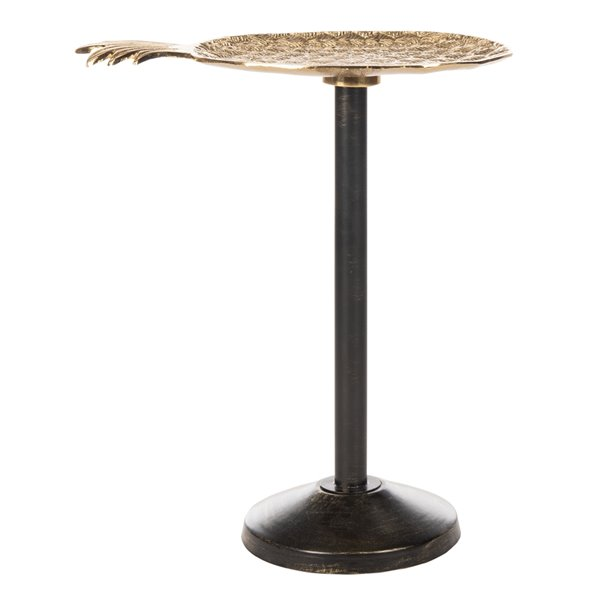 Safavieh Luana Pinapple Gold Accent Table