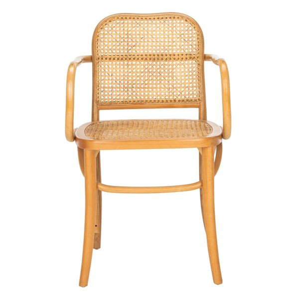 Safavieh Keiko Cane Dining Chair  - Natural Seat and Finish