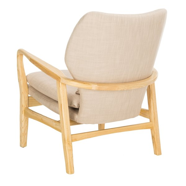 Safavieh Tarly Accent Chair - Beige/Natural