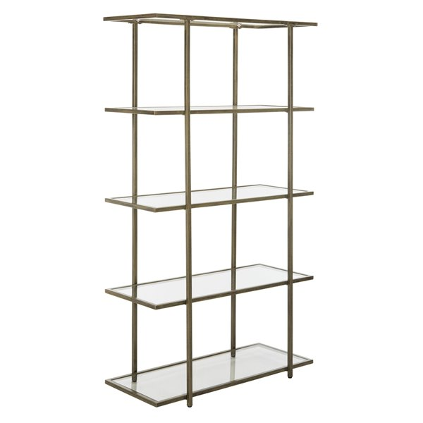 Safavieh Francis 5 Tier Glass Etagere - French Silver Finish