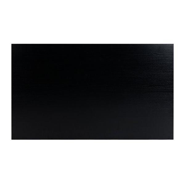 Safavieh Pine Two Drawer Rectangular Coffee Table - Black