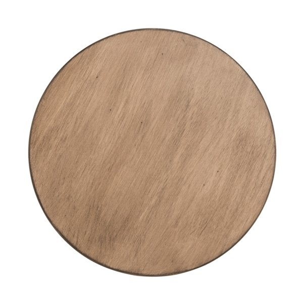 Safavieh Orion Round Wood Accent Table