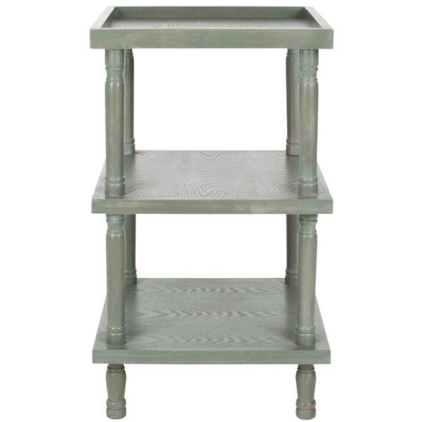 Safavieh Esmerelda Wood Accent Table in French Grey