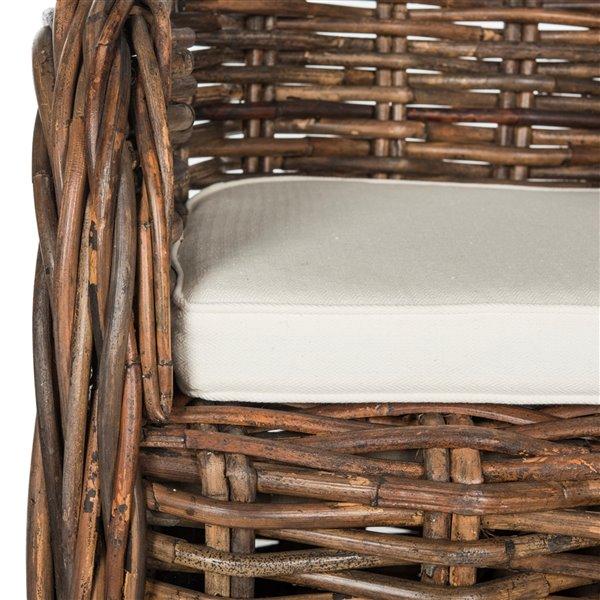 Safavieh Nita Wicker Club Chair - Natural