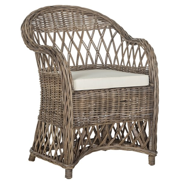 Safavieh Inez Wicker Club Chair - Natural
