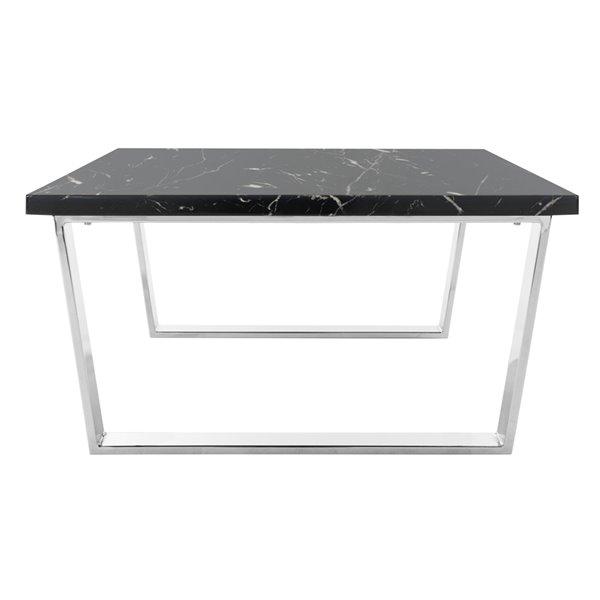 Safavieh Carmen Square Coffee Table - Black - 31.5-in
