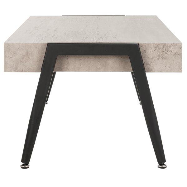 Safavieh Cameron Rectangular Midcentury Modern Coffee Table - Grey