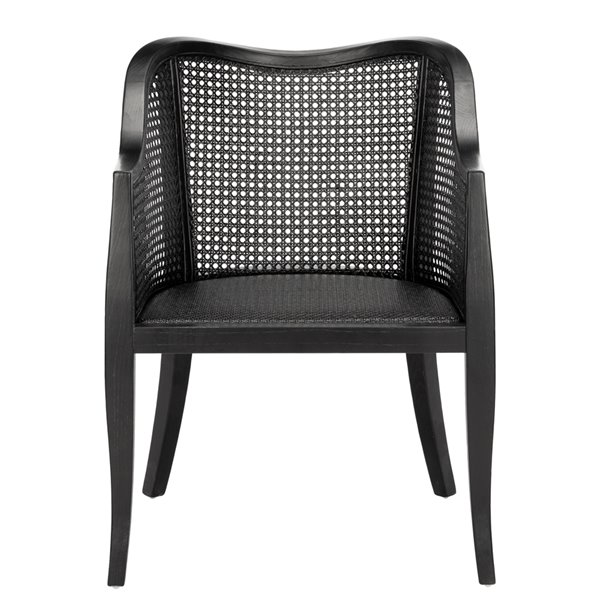 Safavieh Maika Dining Chair  - Black Seat and Finish