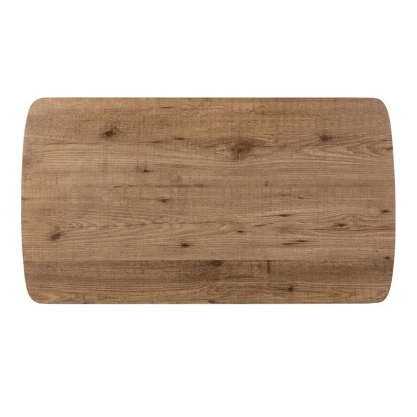 Safavieh Rylee Rectangular Taup brown Wood Coffee Table