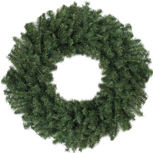 Northlight Canadian Pine Artificial Christmas Wreath - Unlit - 30-in