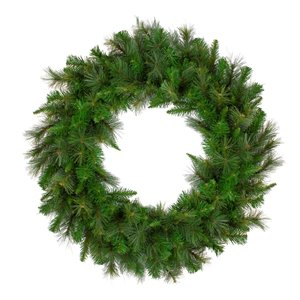 Northlight Canyon Pine Mixed Green Artificial Christmas Wreath - Unlit - 36-in