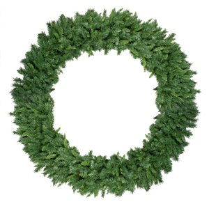 Northlight Green Lush Mixed Pine Artificial Christmas Wreath - 6-ft - Unlit