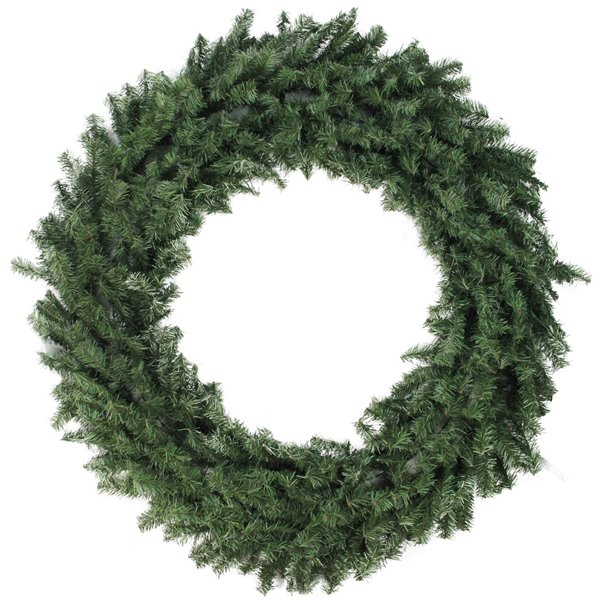 Northlight Canadian Pine Artificial Christmas Wreath - 48-in - Unlit
