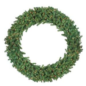 Northlight Green Deluxe Windsor Pine Artificial Christmas Wreath - 72-in