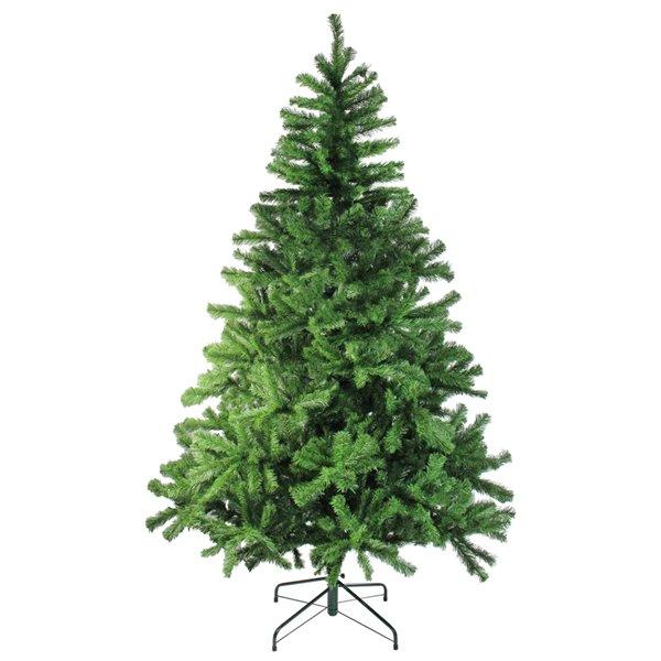 Northlight Colorado Spruce 2-Tone Artificial Christmas Tree - Unlit - 6-ft