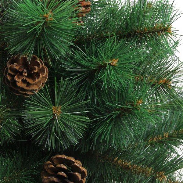 Northlight Medium Royal Oregon Pine Burlap Base Artificial Christmas Tree - Unlit - 3-ft