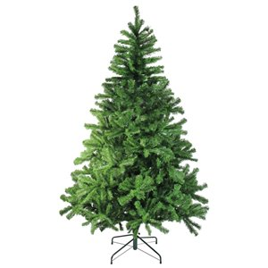Northlight Colorado Spruce 2-Tone Artificial Christmas Tree - Unlit - 7-ft