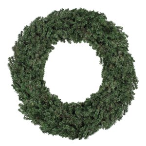 Northlight Commercial Size Canadian Pine Artificial Christmas Wreath - 96-in