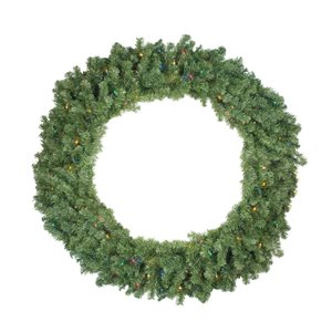 Northlight Pre-Lit Canadian Pine Artificial Christmas Wreath - 48-in