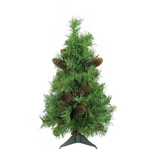 Northlight Full Dakota Pine Artificial Christmas Tree - Unlit - 2-ft