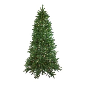 Northlight Pre-Lit Instant Connect Neola Fraser Fir Artificial Xmas Tree - 9-ft