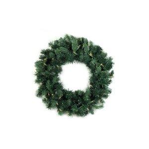 Northlight Pre-Lit Washington Frasier Fir Artificial Xmas Wreath - 24-in