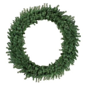 Northlight Canadian Pine Artificial Christmas Wreath - 5ft - Unlit