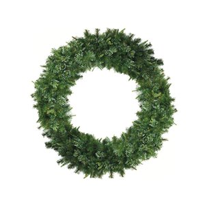 Northlight Ashcroft Cashmere Pine Commercial Size Artificial Xmas Wreath - 60-in