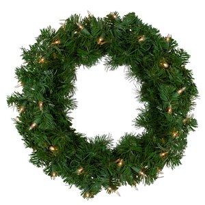 Northlight Deluxe Windsor Pine Artificial Christmas Wreath - 16-in