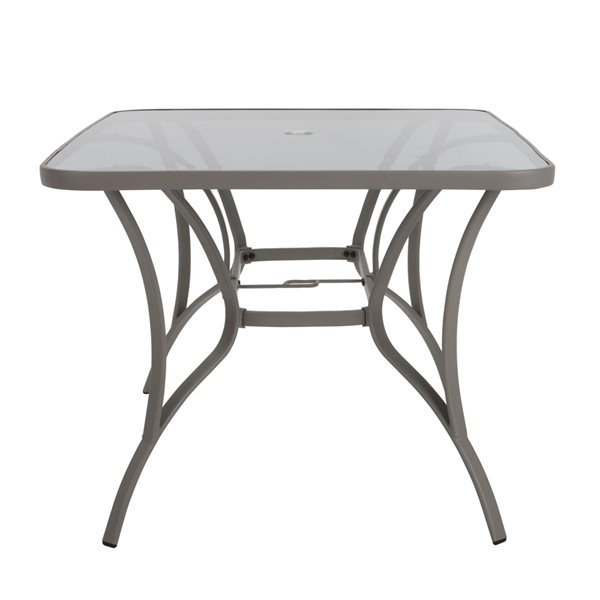 Cosco Outdoor Living Paloma Patio Dining Table - 60-in x 38-in - Navy