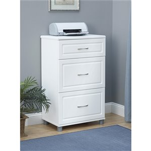 System Build Kendall 3-Drawer Base Cabinet - 12.44-in x 54-i