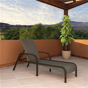 Chaise longue SmartWick de Cosco Outdoor Living, gris